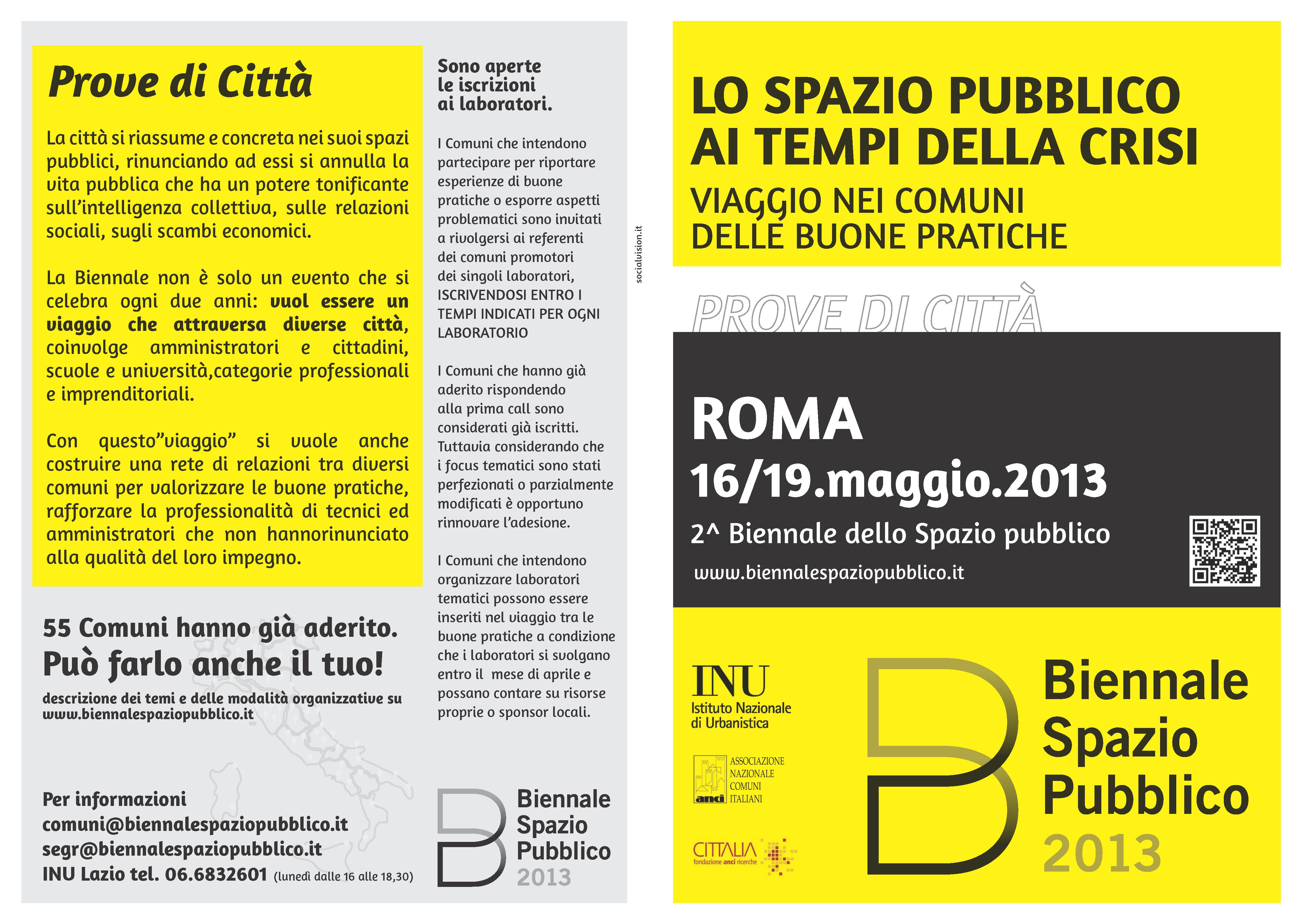 Biennale dello Spazio Pubblico 2013